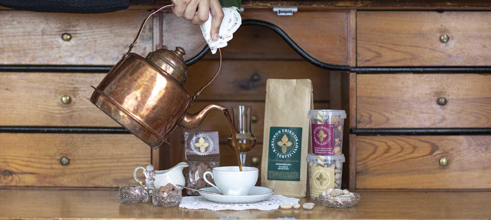 kartanon kahvi manor coffee