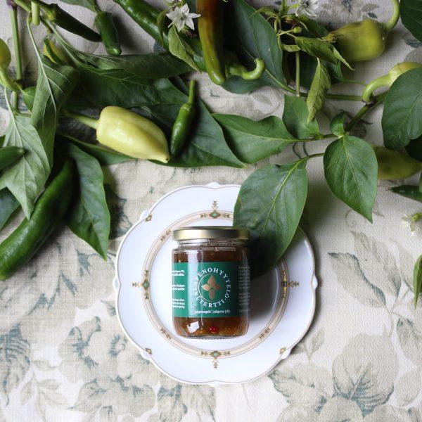 jalapenohyytelö jalapeno jelly