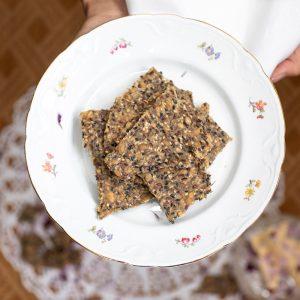 siemennäkkileipä seed crisp bread